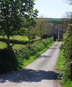 Lobhill Farmhouse Entrance