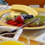 Lobhill Farmhouse Devon Fruit Breakfast