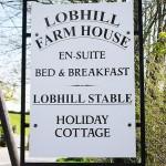 Lobhill Farmhouse Sign