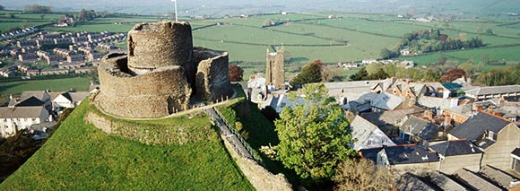 Launceston Castle Cornwall