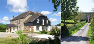 Lobhill Farmhouse bed and breakfast in Devon