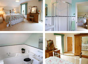The Green Room at Lobhill Farmhouse
