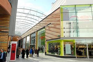 Princesshay Shopping Centre Exeter