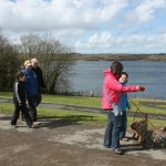 Walking at Roadford Lake, Devon