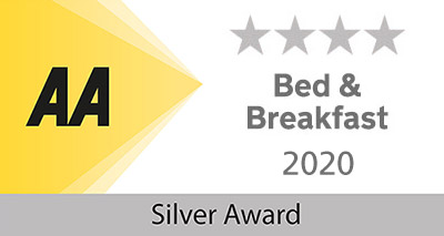 Lobhill Farmhouse Bed and Breakfast and Self Catering AA 4 Star Silver Awards 2020