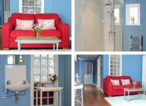 Bed and Breakfast Room with Sofa, Devon