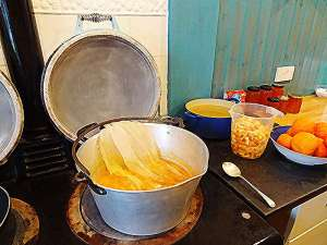 lobhill farmhouse marmalade being made
