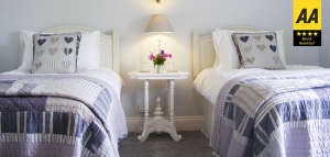 lobhill farmhouse white room bed and breakfast