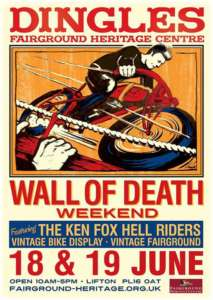 bed and breakfast for wall of death at dingles 2016