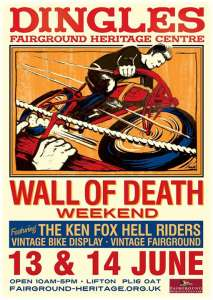 wall of death bed and breakfast